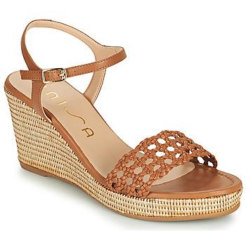 Zapatos Mujer Sandalias Unisa LOBI Camel