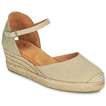 Zapatos Mujer Sandalias Unisa CISCA Beige