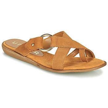 Zapatos Mujer Chanclas Unisa ADRIEL Camel
