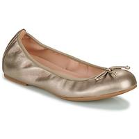 Zapatos Mujer Bailarinas-manoletinas Unisa ACOR Champaña