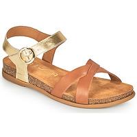 Zapatos Mujer Sandalias Unisa CINCEL Camel