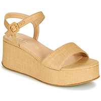 Zapatos Mujer Sandalias Unisa LAIKI Beige