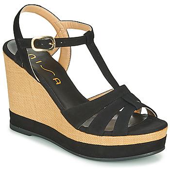 Zapatos Mujer Sandalias Unisa MANACOR Negro