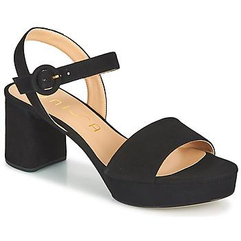 Zapatos Mujer Sandalias Unisa NENES Negro