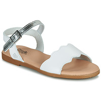 Zapatos Niña Sandalias Citrouille et Compagnie OBILO Blanco