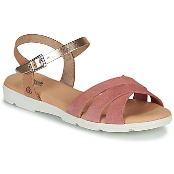 Zapatos Niña Sandalias Citrouille et Compagnie OBILOU Rosa