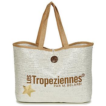 Bolsos Mujer Bolso shopping Les Tropéziennes par M Belarbi PANAMA Beige