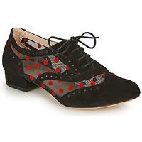 Zapatos Mujer Richelieu Fericelli ABIAJE Negro / Rojo