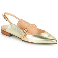 Zapatos Mujer Bailarinas-manoletinas Fericelli SUSANNA Oro