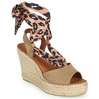 Zapatos Mujer Sandalias Fericelli SERRAJE Marrón