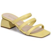 Zapatos Mujer Zuecos (Mules) Fericelli TELIA Amarillo