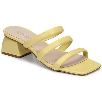 Zapatos Mujer Zuecos (Mules) Fericelli TIBET Amarillo