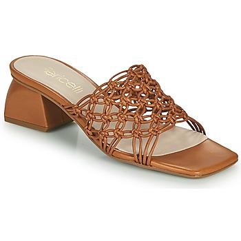 Zapatos Mujer Zuecos (Mules) Fericelli TELIA Camel