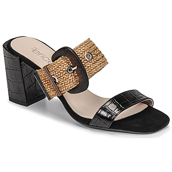 Zapatos Mujer Zuecos (Mules) Fericelli MARCO Negro