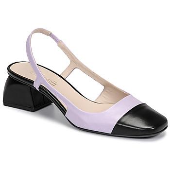 Zapatos Mujer Zapatos de tacón Fericelli TOUBET Violeta / Negro