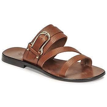 Zapatos Mujer Sandalias Fericelli STAMP Camel