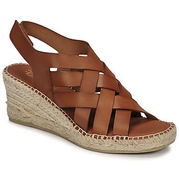 Zapatos Mujer Sandalias Fericelli ODALUMY Camel