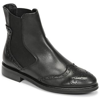Zapatos Mujer Botas de caña baja Fericelli CRISTAL Negro
