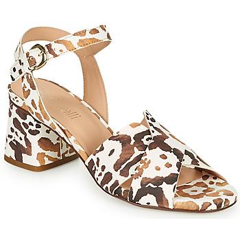 Zapatos Mujer Sandalias Fericelli ONAPA Beige / Oro