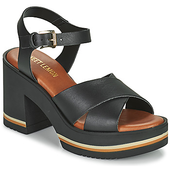 Zapatos Mujer Sandalias Sweet Lemon LUPOLE Negro