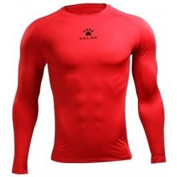 textil Hombre Camisetas manga larga Kelme CAMISETA TÉRMICA M/L Rojo