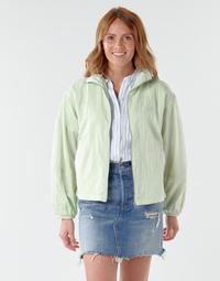 textil Mujer cazadoras Levi's BOK CHOY Verde