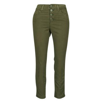 textil Mujer Pantalones con 5 bolsillos Levi's SOFT CANVAS OLIVE NIGHT OD Kaki