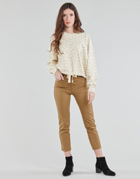 textil Mujer Pantalones con 5 bolsillos Levi's SOFT CANVAS TOASTED COCONUT OD Beige