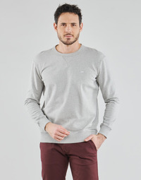 textil Hombre Sudaderas Lee SUSTAINABLE CREW SWS GREY MELE Gris