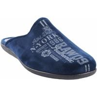 Zapatos Hombre Pantuflas Ne Les Ir por casa caballero NELES n55-4724b azul Azul