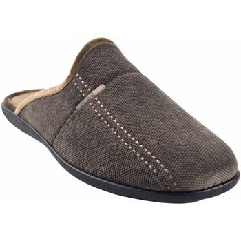 Zapatos Hombre Pantuflas Ne Les Ir por casa caballero NELES n50-17724 marron Marrón