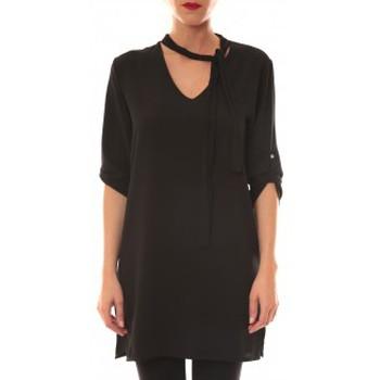 textil Mujer Vestidos cortos La Vitrine De La Mode Robe 156 By La Vitrine Noire Negro