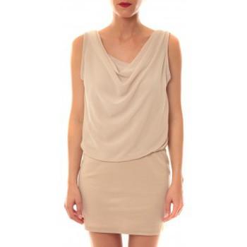 textil Mujer Vestidos cortos La Vitrine De La Mode Robe 157 By La Vitrine Beige Beige