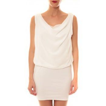 textil Mujer Vestidos cortos La Vitrine De La Mode Robe 157 By La Vitrine Blanc Blanco
