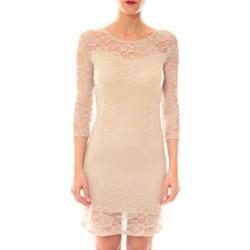 textil Mujer Vestidos cortos La Vitrine De La Mode Robe 158 By La Vitrine Taupe Marrón