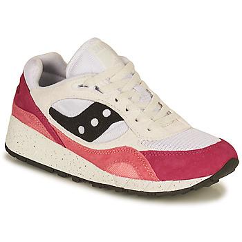 Zapatos Mujer Zapatillas bajas Saucony SHADOW 6000 Blanco / Rosa