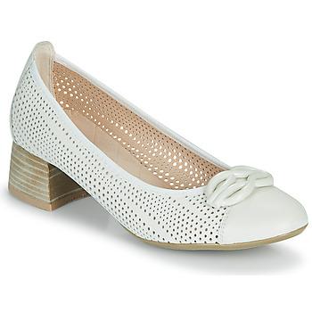 Zapatos Mujer Zapatos de tacón Hispanitas ANDROS Beige
