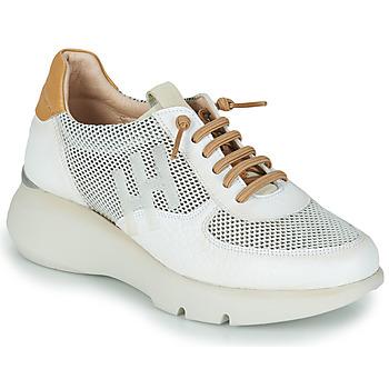Zapatos Mujer Zapatillas bajas Hispanitas TELMA Blanco / Oro