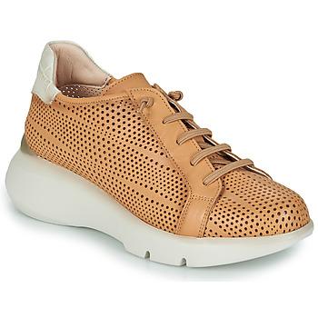 Zapatos Mujer Zapatillas bajas Hispanitas TELMA Camel / Beige