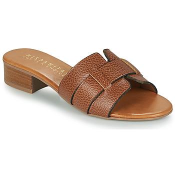 Zapatos Mujer Zuecos (Mules) Hispanitas LOLA Marrón