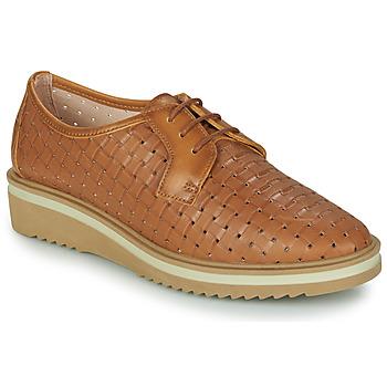Zapatos Mujer Derbie Hispanitas NICOLE Marrón