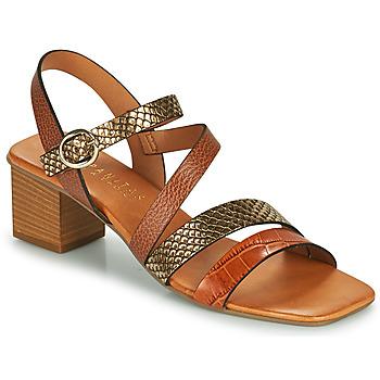 Zapatos Mujer Sandalias Hispanitas OLGA Marrón / Bronce