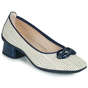 Zapatos Mujer Zapatos de tacón Hispanitas FIONA Blanco / Azul