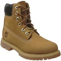 Zapatos Mujer Botas de caña baja Timberland 10361 Amarillo nobuck