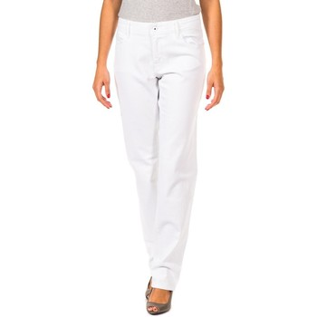 textil Mujer Pantalones Gaastra Pantalon largo Blanco