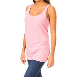 textil Mujer Camisetas sin mangas Gaastra Camiseta de tirante Violeta