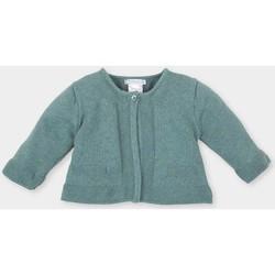textil Niña Chaquetas de punto Tutto Piccolo Chaqueta m/larga Verde