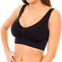 Ropa interior Mujer Sujetador Marie Claire Sujetador sin costuras Max.Confort Negro