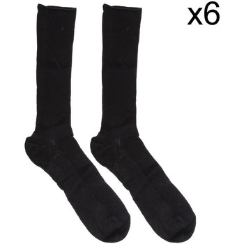 Accesorios Hombre Calcetines Marie Claire Pack-6 Calcetin ejecutivo sin goma Negro