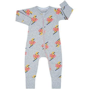 textil Niños Monos / Petos DIM Pelele manga larga con cremallera Gris